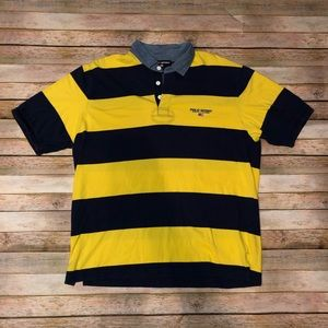 Vintage Polo Sport Ralph Lauren Stripped Polo